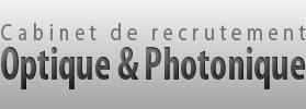 Cabinet de recrutement optique et photonique